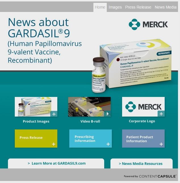 Merck\'s 9-Valent HPV Vaccine, GARDASIL®9, Recommended by CDC\'s ...