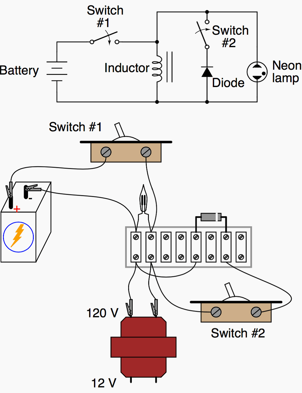 Experiment With Commutating Diode Chapter Descrete Semiconductor Switch In Electrical Circuit Circuits
