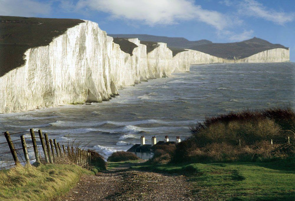 White Cliffs of Dover, England. | Places I'd Like to Go or ...
