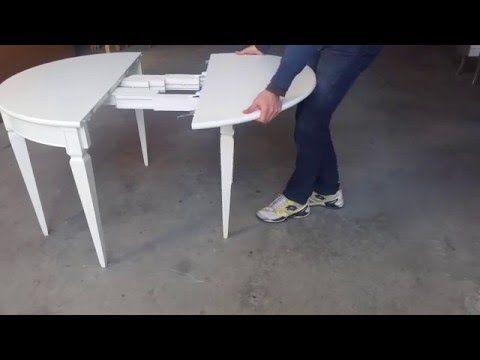 Tavolo Consolle Allungabile Ciliegio.Tavolo Consolle Allungabile In Legno Di Ciliegio E Faggio Tavoli