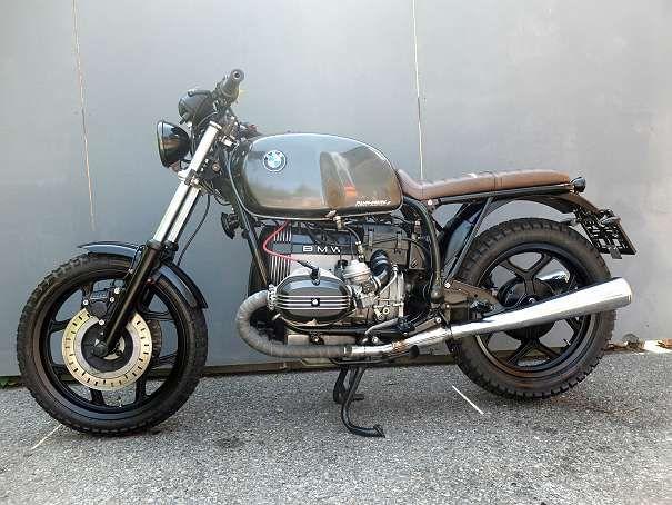 Bmw R80 Rt Cafe Scrambler Umbau Motorrad Bmw Motorrad Bmw