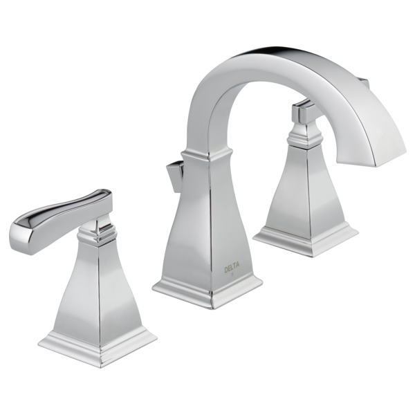 Two Handle Widespread Bathroom Faucet 35718 Dst Delta Faucet Bathroom Faucets Moen Bathroom Faucets Bathroom Faucets Brushed Nickel