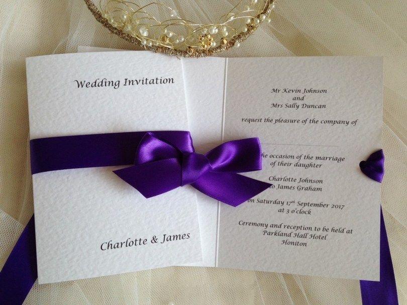 26 Beautiful Photo Of Purple Wedding Invitations Wedding