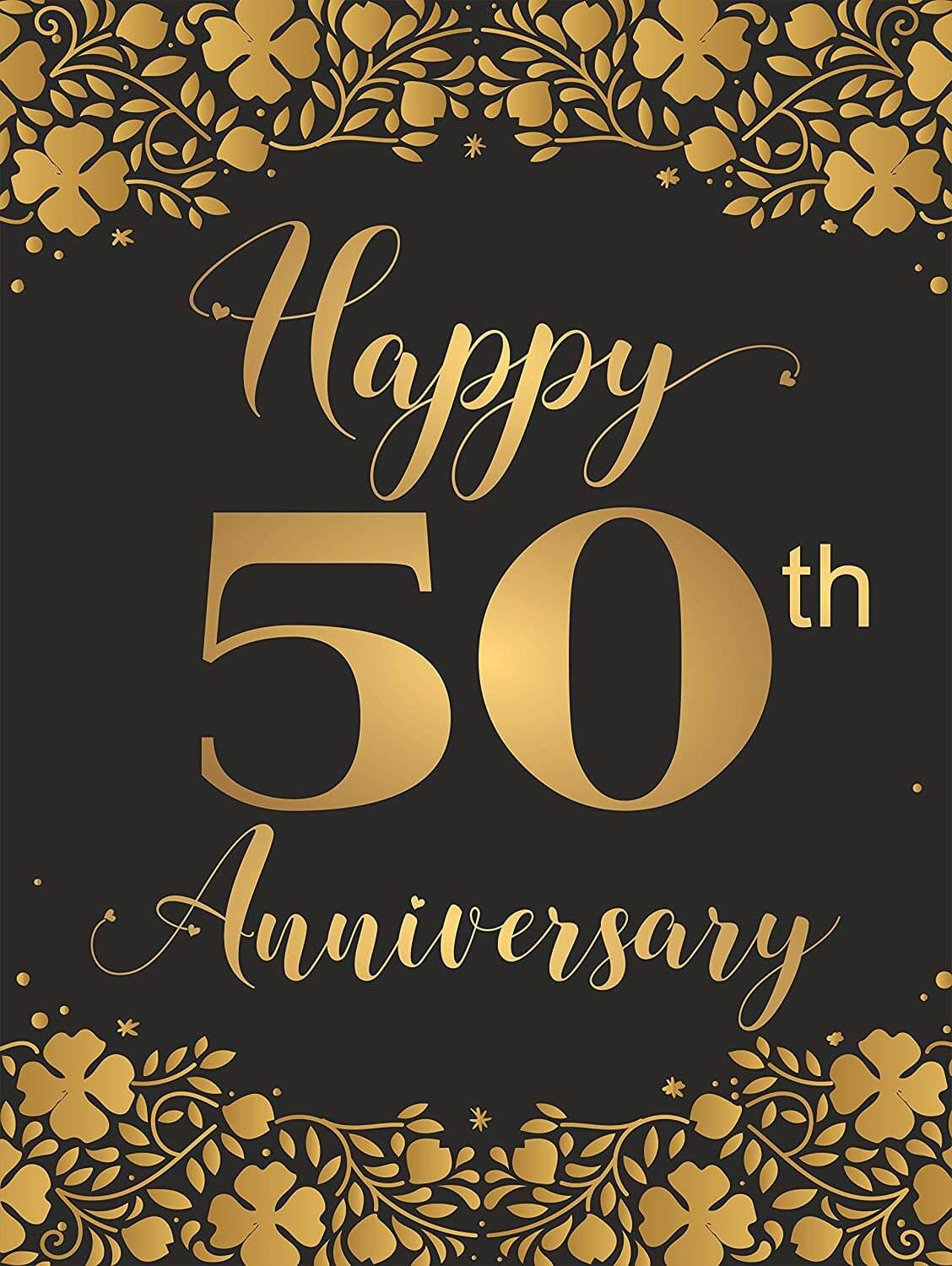 Happy 50th Anniversary Images For Husband, Wife and