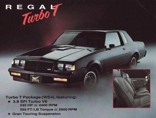 130 Buick Regal Grand National T Type Ideas Buick Regal Grand National Buick