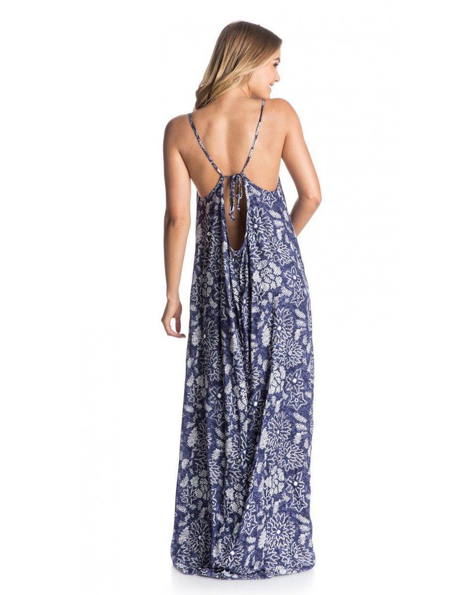 Roxy Stillwater Maxi Dress Casual Summer Dresses Sundresses Maxi Dress Beach Attire For Women [ 1200 x 960 Pixel ]