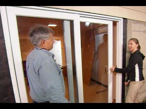 How To Install A Sliding Glass Door This Old House Sliding Glass Door Glass Door Diy Door