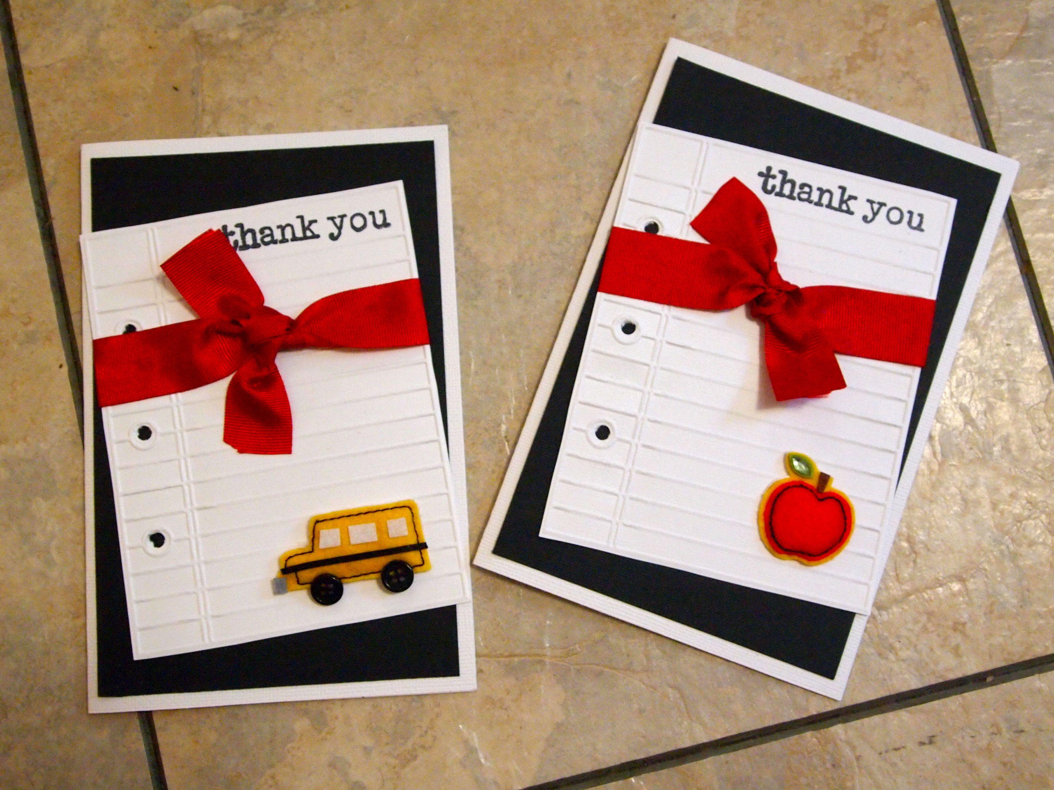 Thank You Cards  Scrapbookcom