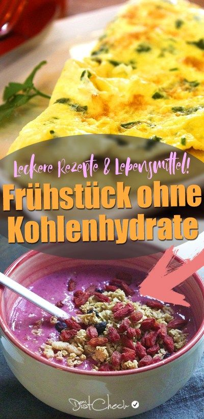 Frühstück ohne Kohlenhydrate - Tolle Low Carb Rezeptideen! #lowcarbyum