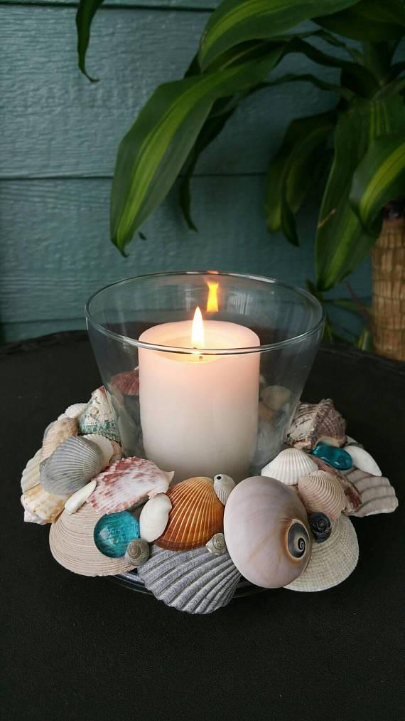 Photo of Seashell Candle Holder Decoration #candle #Decoration #holder #Seashell #upc