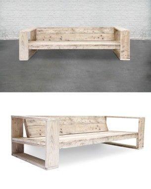 Resultado De Imagen De Hacer Sofa Madera Exterior Muebles - Como-hacer-un-sillon-de-madera