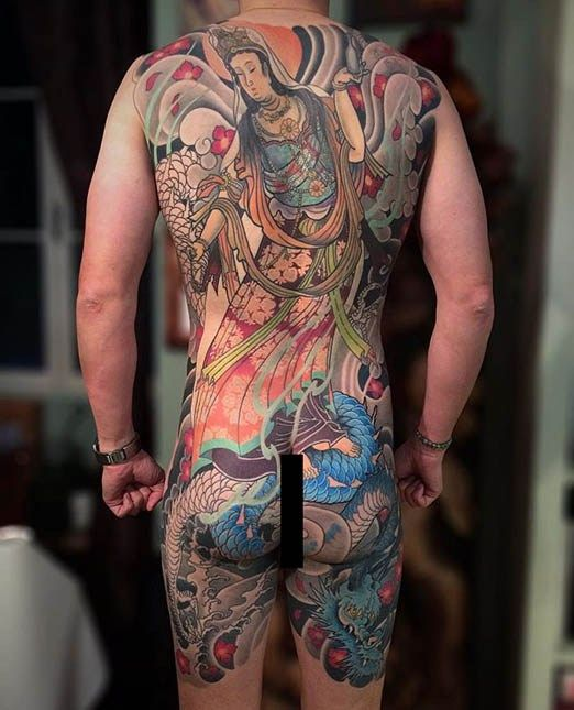 Asian style tattoo pics think, that