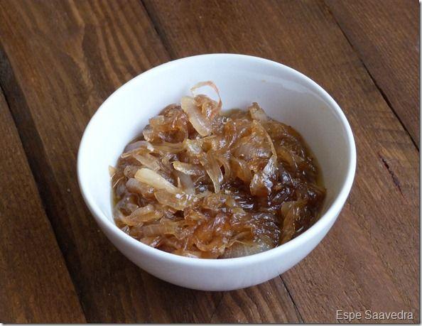 cebolla caramelizada espe saavedra