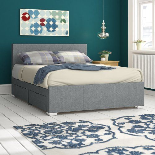 Home Loft Concept Fiona Upholstered Storage Bed Frame Products