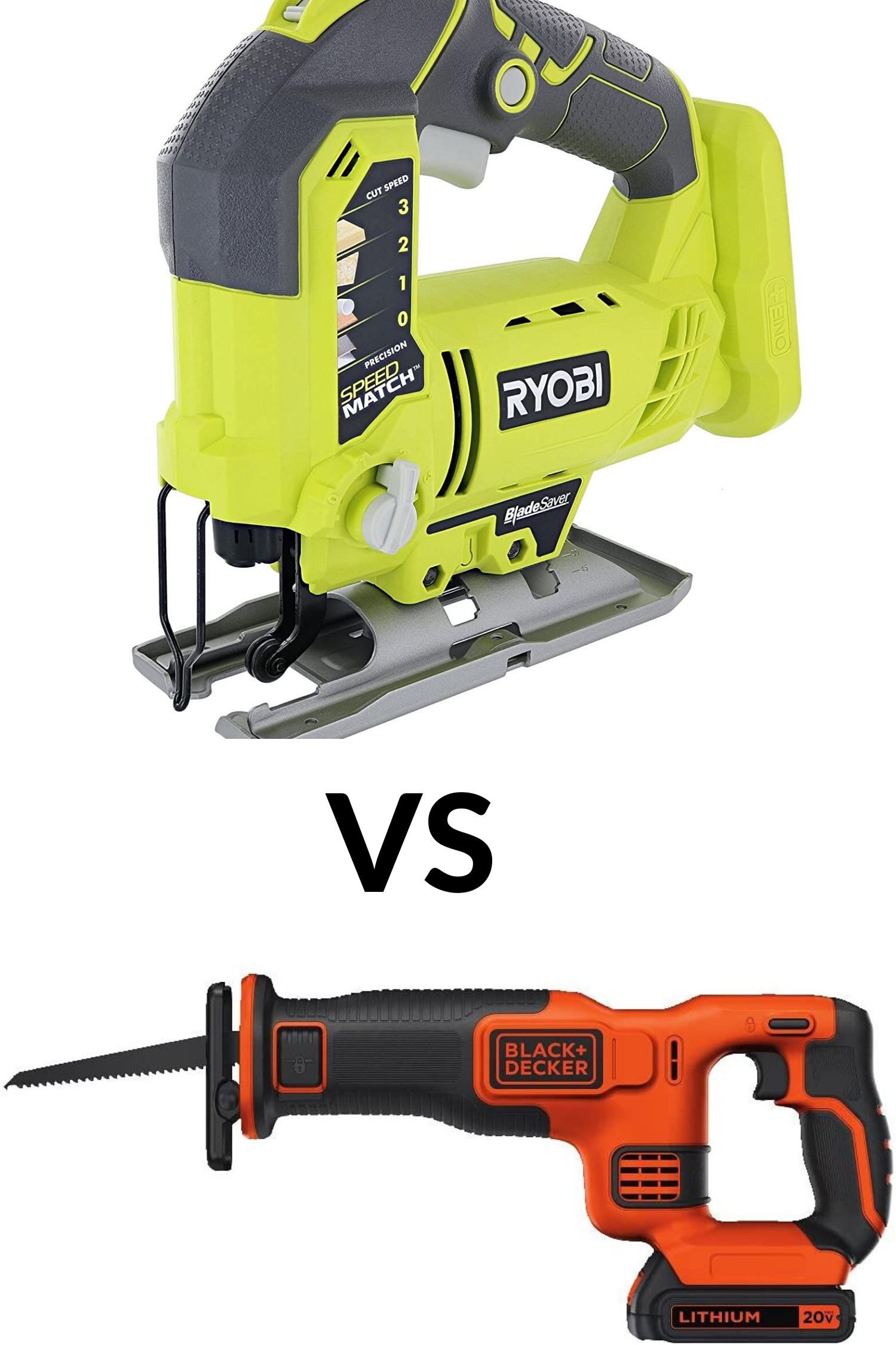 Reciprocating Saw Vs Jigsaw Which Is A Better For You In 2020 Reciprocating Saw Power Saws Diy Cnc Router