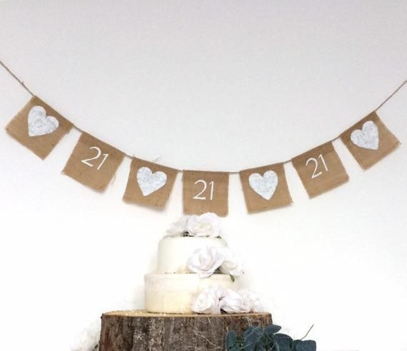 21st birthday bunting . 21st birthday banner . Personalised birthday bunting . Any age . Rustic hessian bunting . Custom birthday bunting #21stbirthdaysigns 21st birthday bunting . 21st birthday banner . Personalised birthday bunting . Any age . Rustic hess #21stbirthdaysigns
