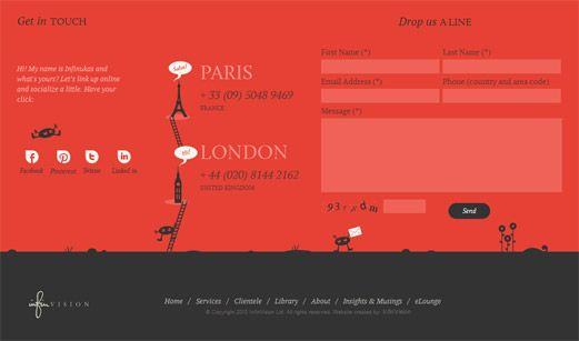 From Head To Foot Showcase Of Beautiful Header And Footer Designs Footer Design Web Design Creative Web Design
