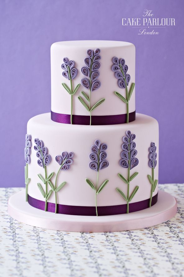 Lavender Cake Torte Pinterest Cake Celebration Cakes And