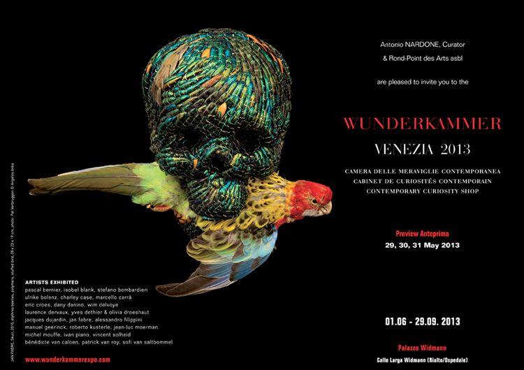 Wunderkammer Camera delle meraviglie contemporanea, 2013