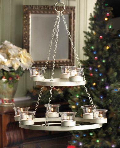 White tree chandelier christmas holiday decor christmas holidays white tree chandelier christmas holiday decor aloadofball Choice Image