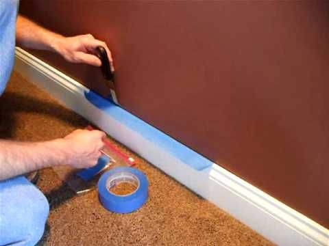 Painting How To Apply Masking Tape Painters Tape Masking Tape Painting Tips