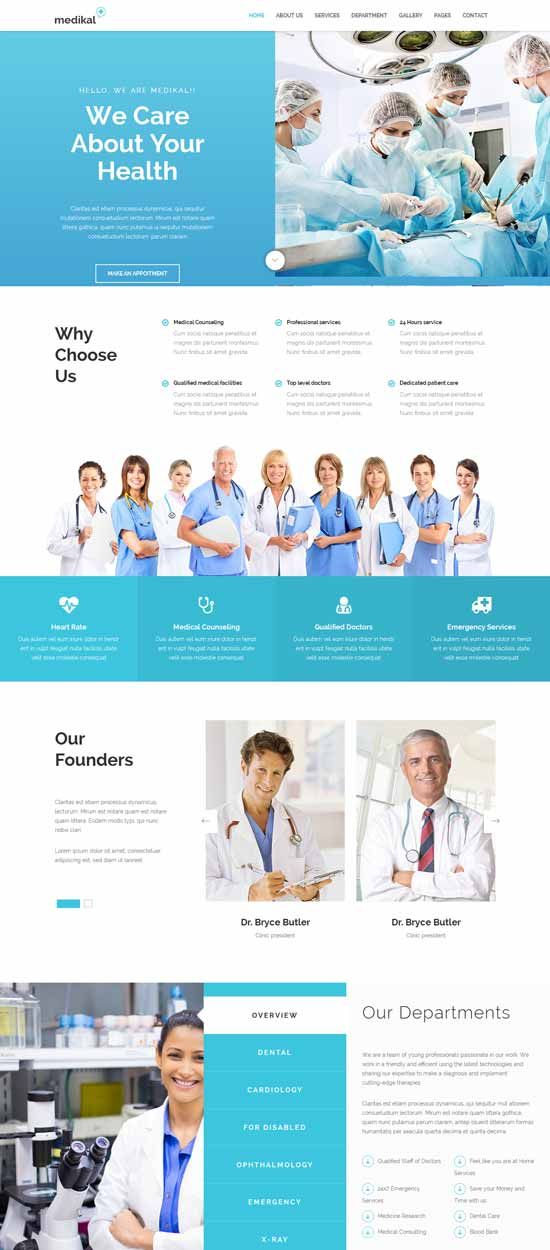 70 Best Health And Medical Website Templates Free Premium Medical Website Design Website Template Design Medical App
