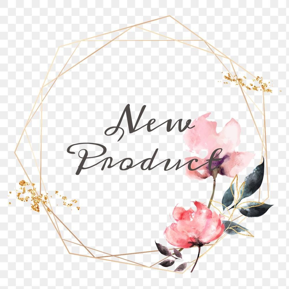 New Product Png Floral Frame Free Image By Rawpixel Com Adj