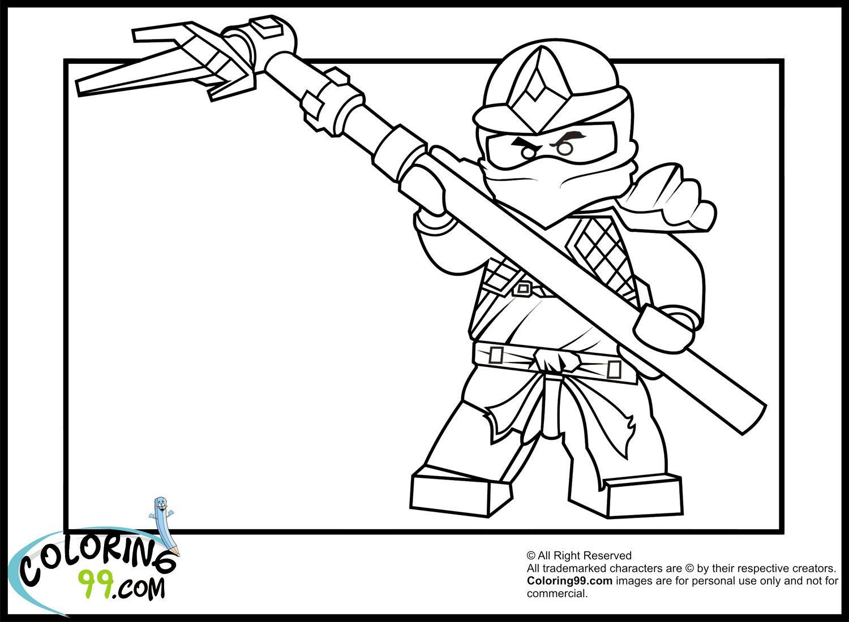 Worksheet Green Ninja