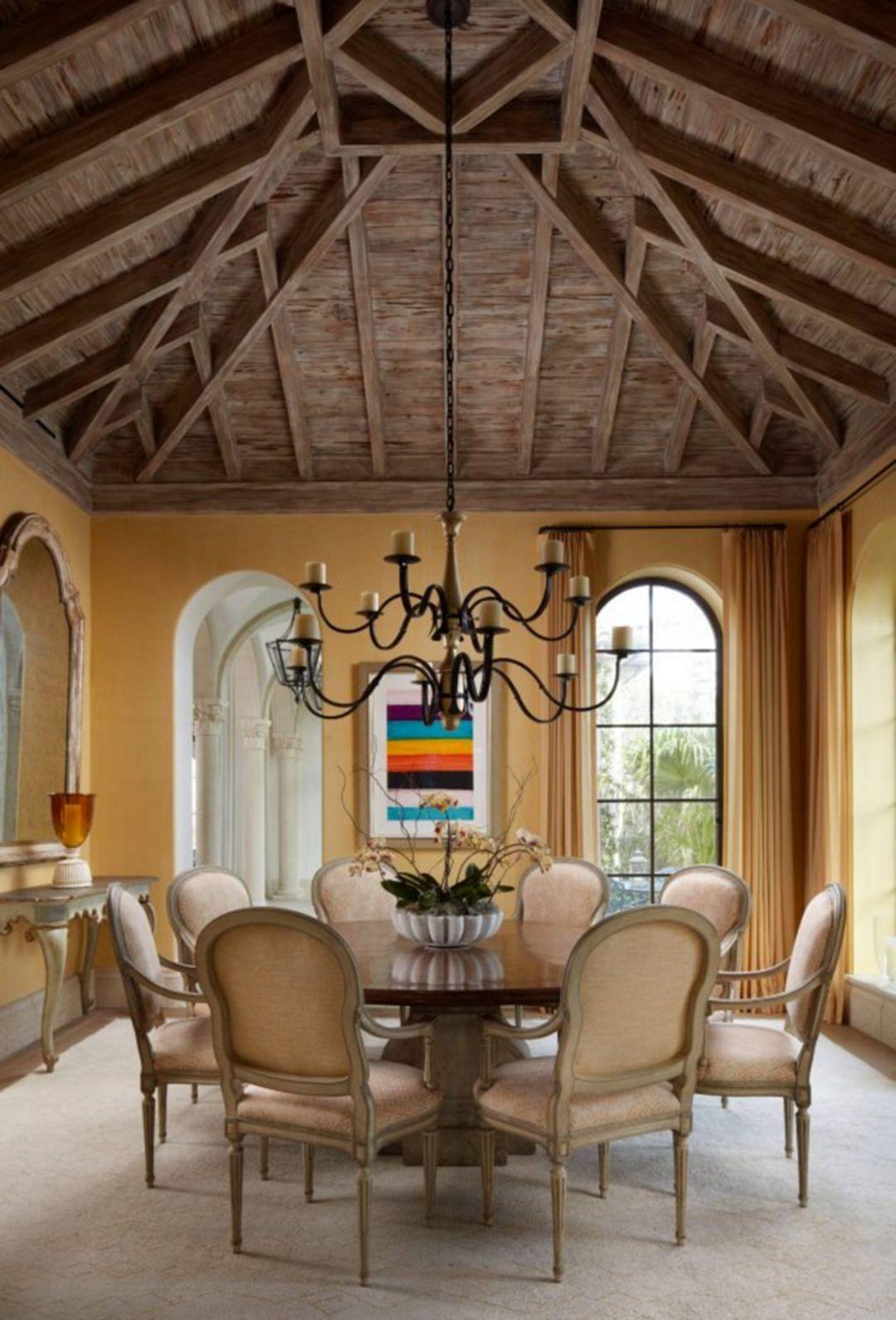 Room Mediterranean StyleDining DesignDining