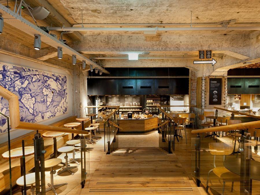 Starbucks vient d\'ouvrir son concept store à Amsterdam dans une ...