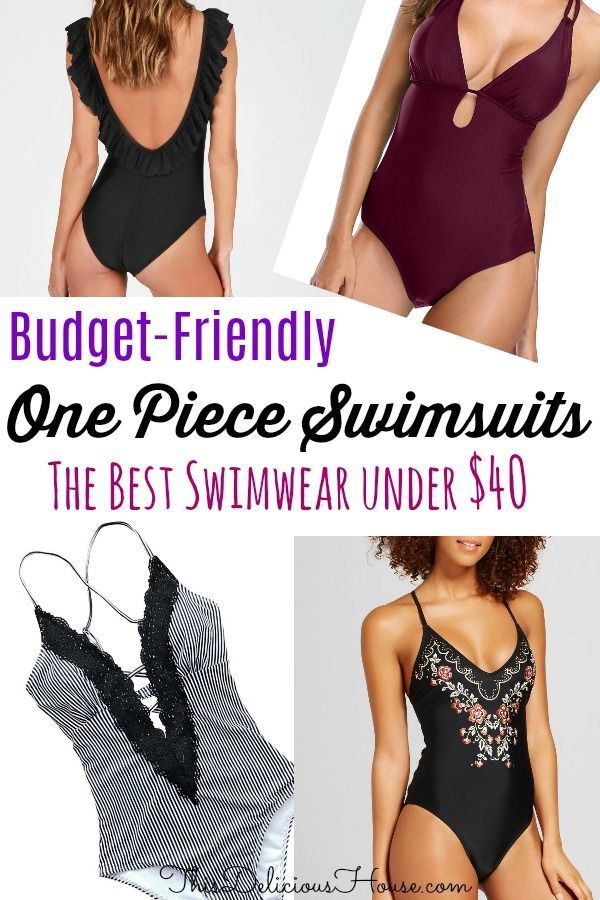 One Piece Swimsuit Guide All Under 30 This Delicious House Piece Swimsuit Cute One Piece Swimsuits One Piece