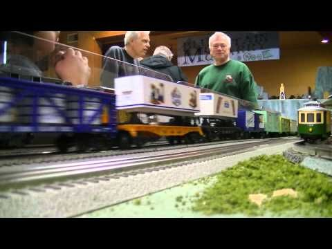 Pearl River BCMRRC train show Final day 3/9/14 - YouTube