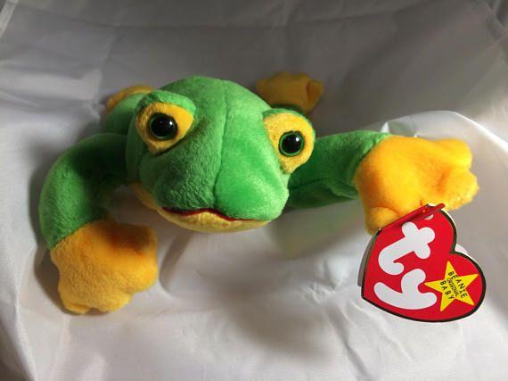 aa33223e565 Smoochy the Frog Original MWT Ty Beanie Baby October 1