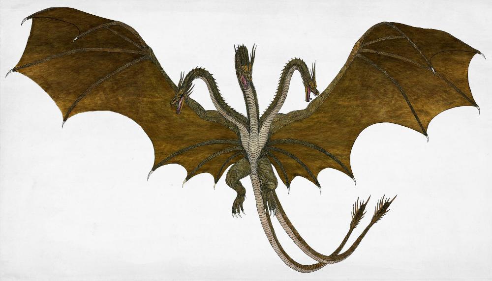 King Ghidorah 2019 By Woodzilla200 On Deviantart Godzilla Vs King Ghidorah All Godzilla Monsters Kaiju Art
