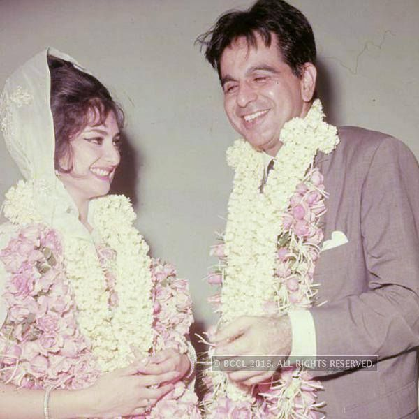 Indian superstar dilip kumar married saira banu bridelan for Saira banu granddaughter