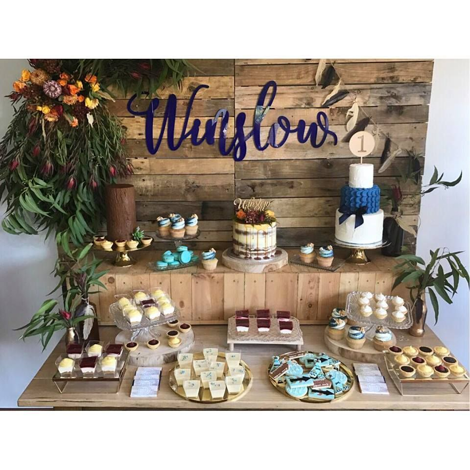 woodland-themed-first-birthday-