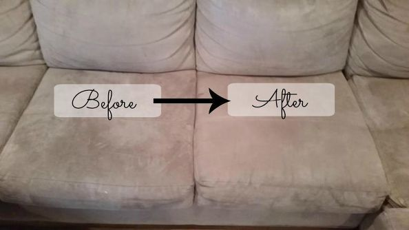 How To Clean A Microfiber Couch Quick Easy Cleaning Microfiber Couch Microfiber Couch Clean Microfiber