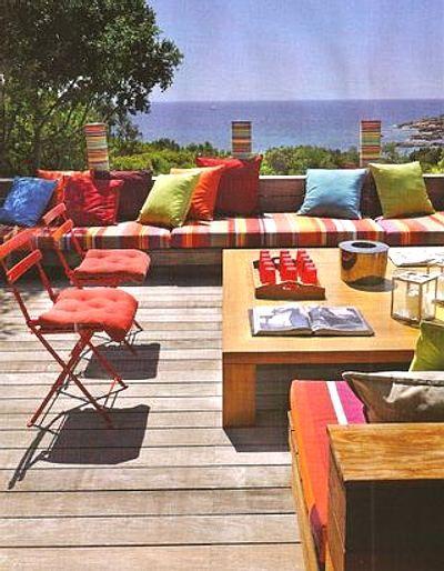 Cómo Decorar la Terraza esta Primavera decoración Pinterest - como decorar una terraza