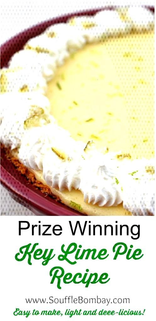 Prize Winning Key Lime Pie Recipe - Its easy and delicious!! recipes Prize Winning Key Lime Pie Re