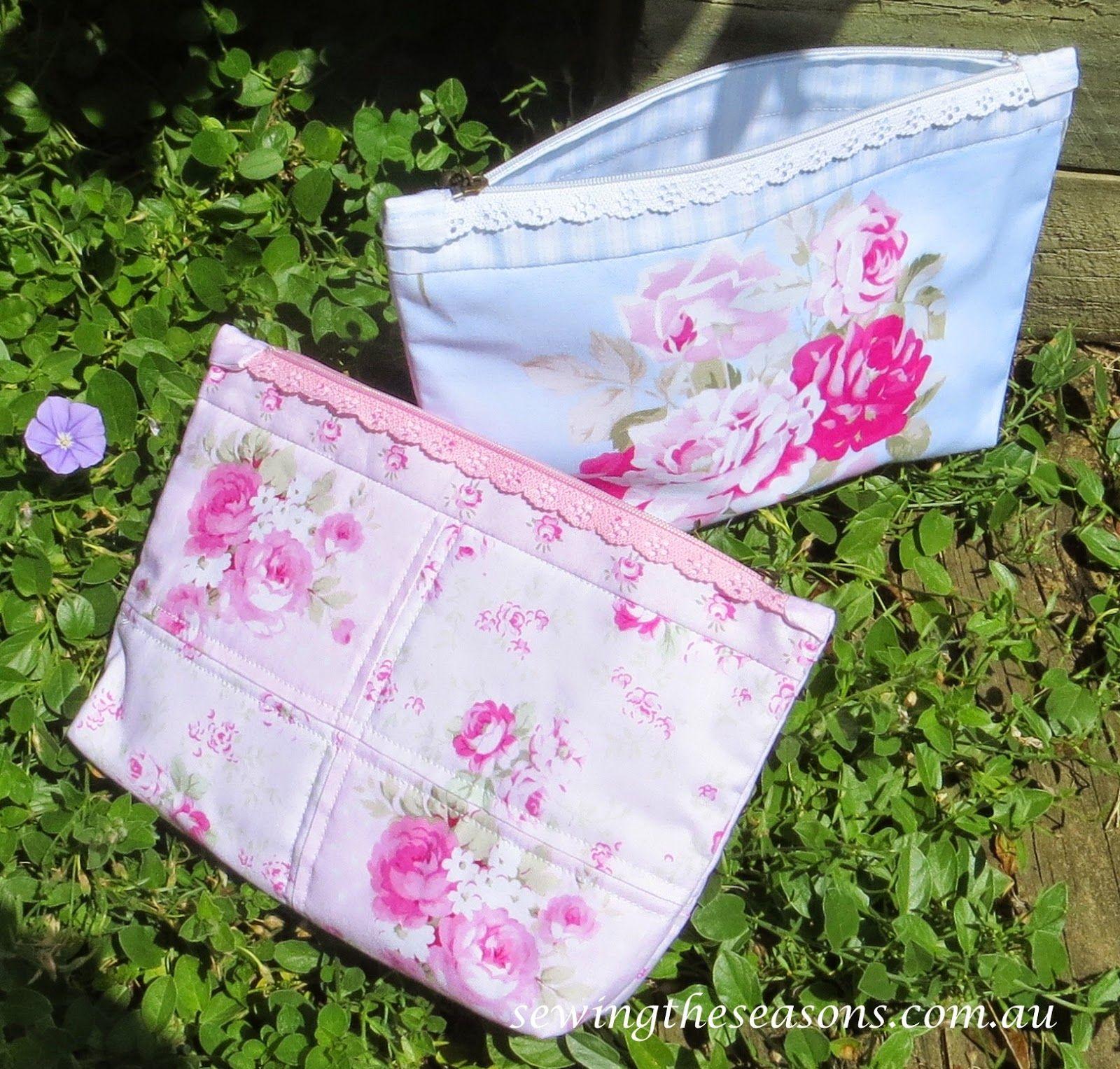 Sewing The Seasons: Tutorial - Filigree Zippered Purse