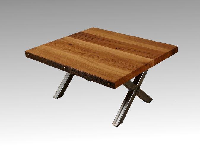 Couchtisch Alte Eiche Tischgestell In Kreuzform Tables 2