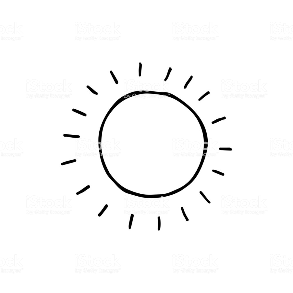 Cute Cartoon Hand Drawn Sun Drawing Sweet Vector Black And White Sun Sun Drawing How To Draw Hands Hand Drawn Vector