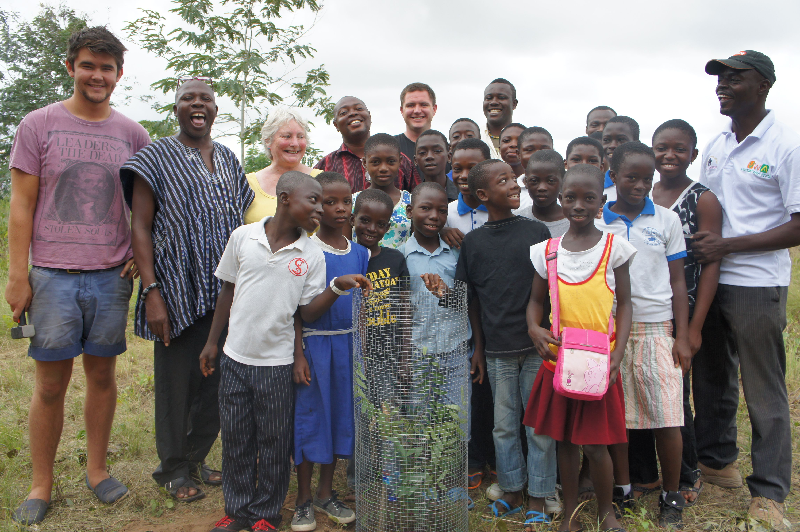 Partner West Africa | Tree Planting