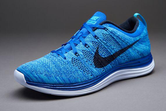 Nike Flyknit Lunar 1+ - Royal/Obsidian/Blue/Bl T Nike Flyknit