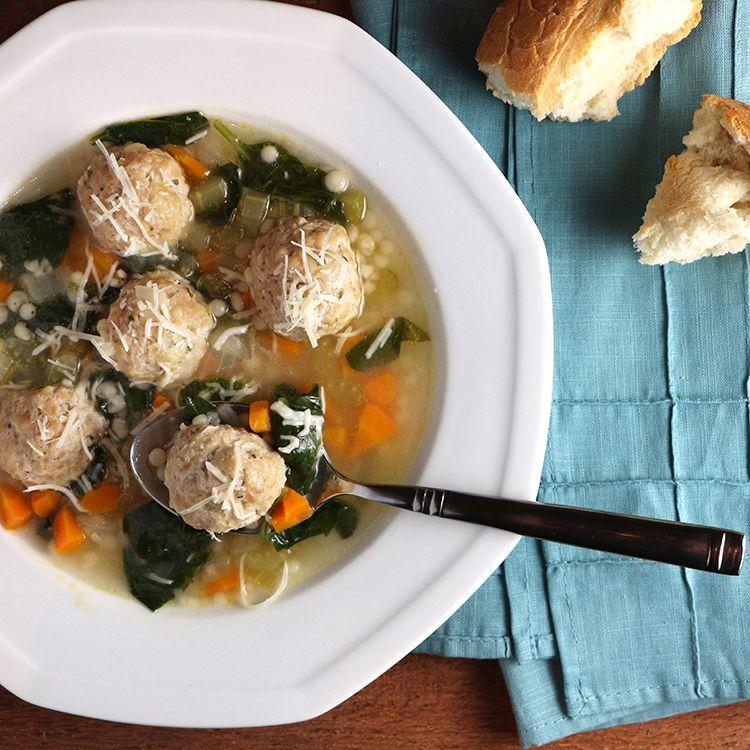 Turkey Meatball Italian Wedding Soup Recipe Italian