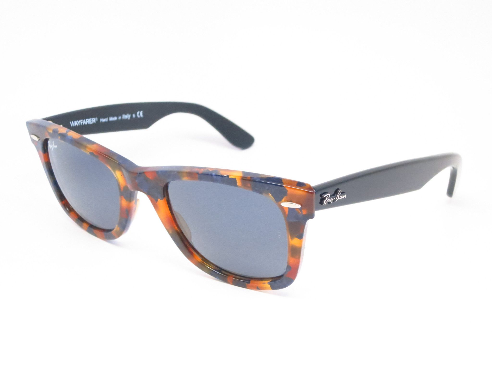 81972915e Ray-Ban RB 2140 Original Wayfarer 1158/R5 Spotted Blue Havana .