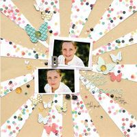 Layout by Guest Designer and Garden Girl, Corrie Jones, working with the AMAZING NEW Allison Kreft collection, Recorded!!