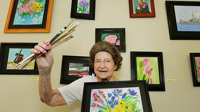 Art Therapy For Nursing Home Residents Has A Wealth Of Health Benefits But T