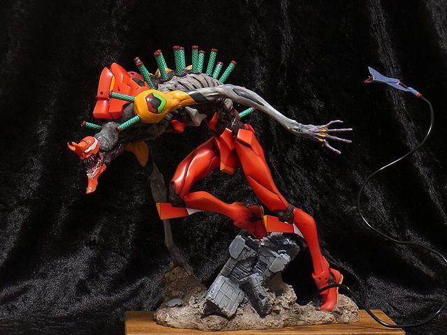 Gk Garage Resin Robot Figure Evangelion Eva02 Beast Version Unpainted Model Kit Evangelion Neon Genesis Evangelion Fantasy Creatures