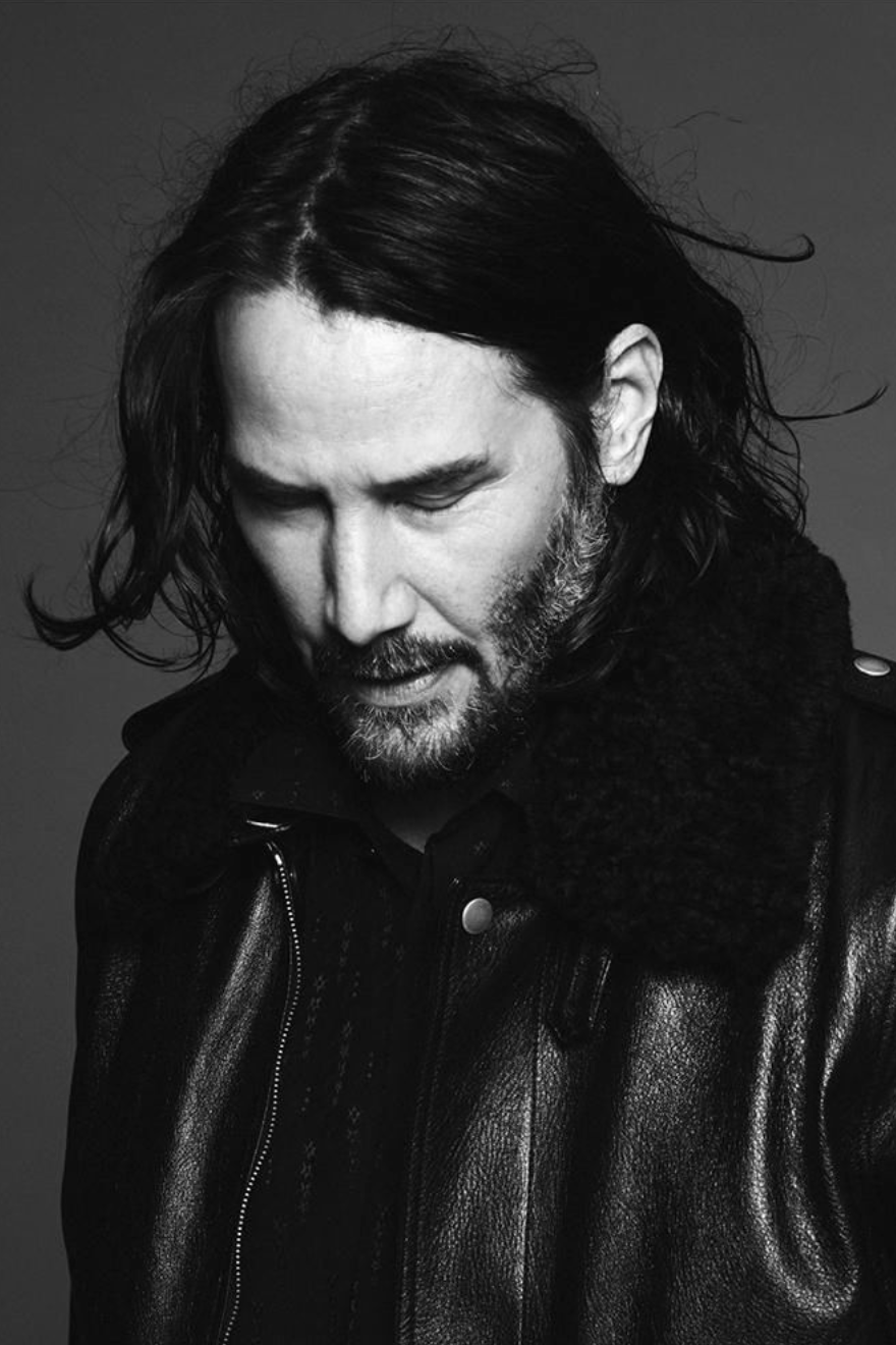 Keanu Reeves protagonista della nuova campagna pubblicitaria di Saint Laurent #hollywoodactor